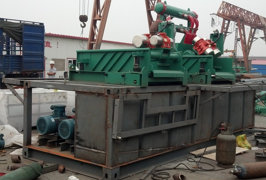 200gpm mud cleaning unit